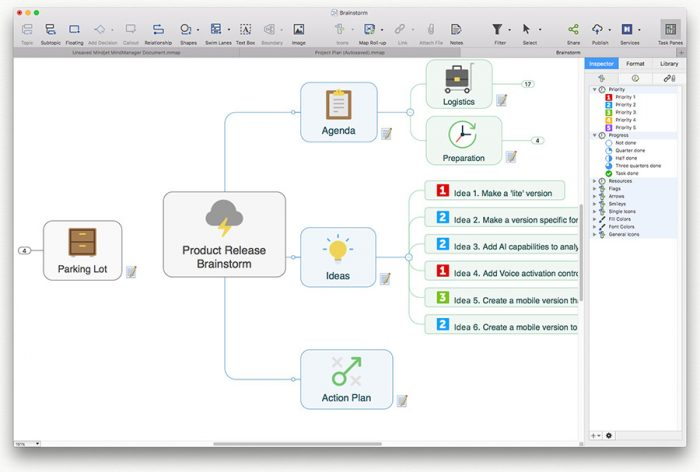 Mindmap App Mindsoftware